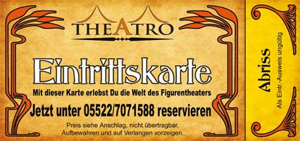 theAtro Eintrittskarte