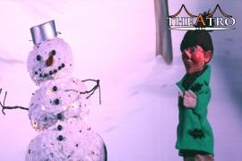 Die Hexe und der Schneemann